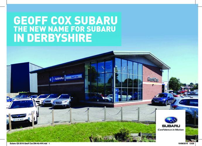 Subaru Geoff Cox