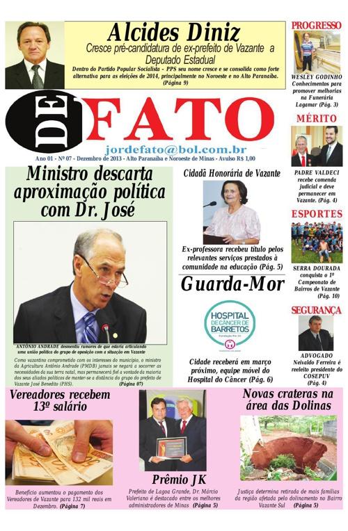 Jornal De Fato 07ª Edição