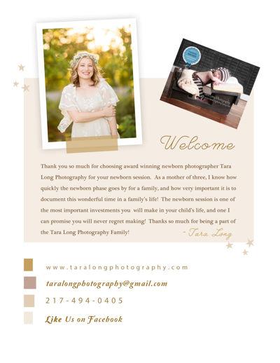 Tara Long Photography Newborn Digital Magazine