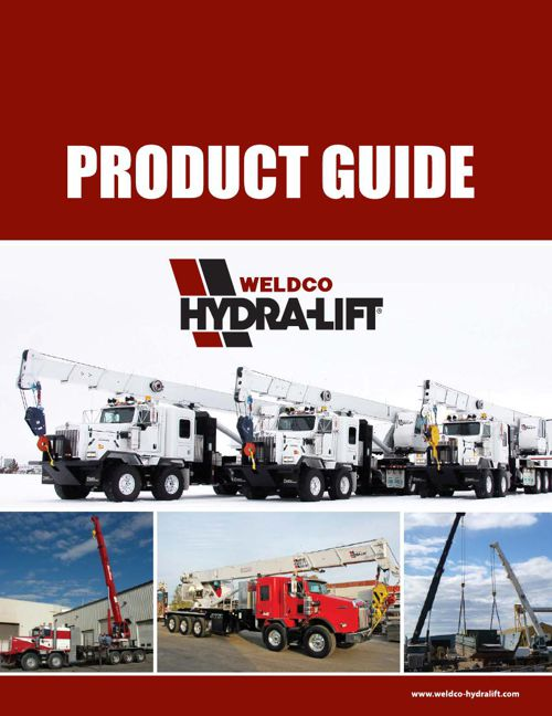 Weldco Hydra-Lift Cranes - Product Guide