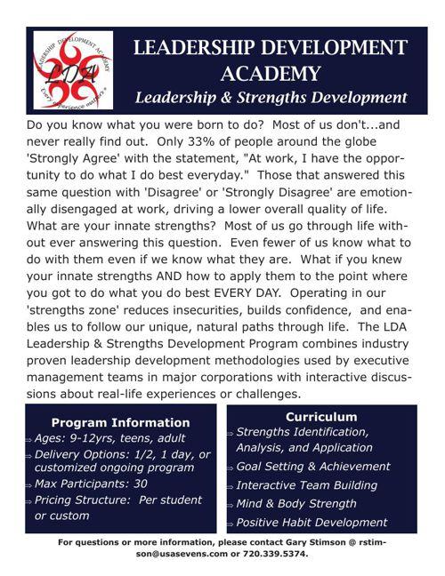 LDA Solutions Catalog