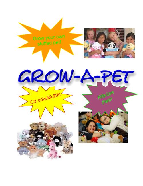 Grow-A-Pet!