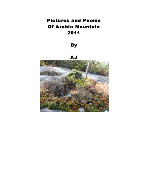 Pictures and poems of Arabia mountain