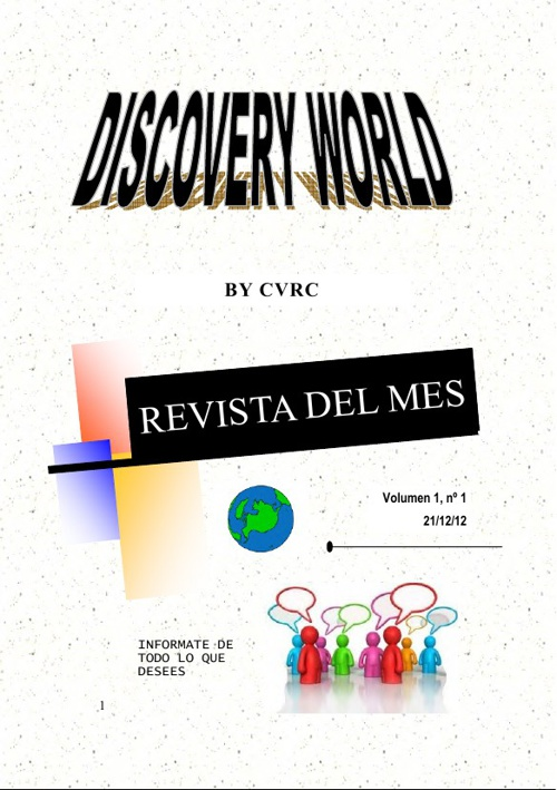 Revista DISCOVERY WORLD