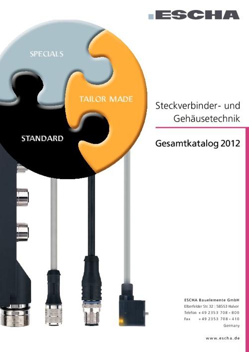 ESCHA Katalog 2012