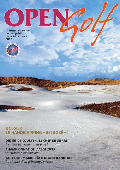 Open Golf - Hiver 2015