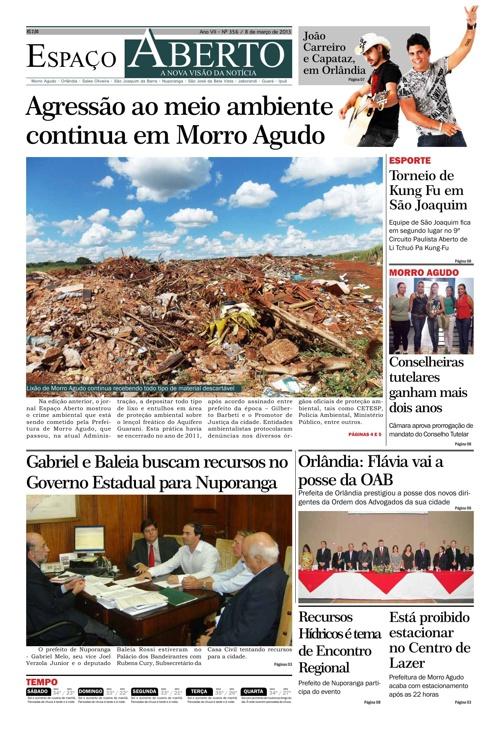 Jornal Espaço Aberto - edição 356
