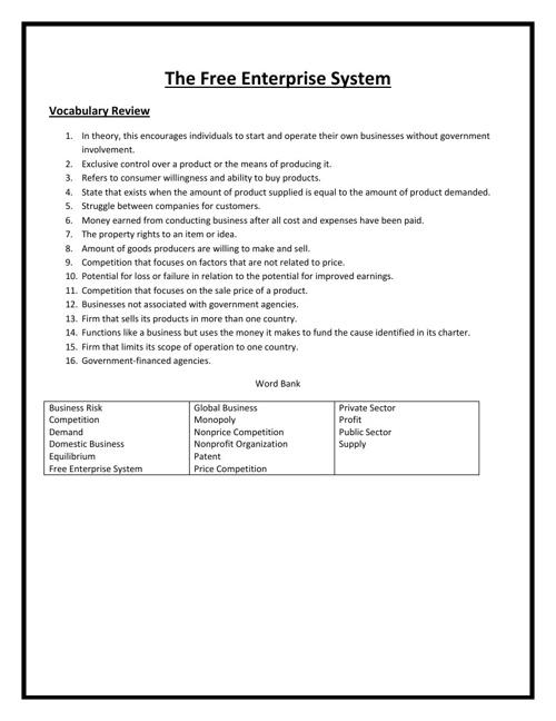 Unit 3 Study Material