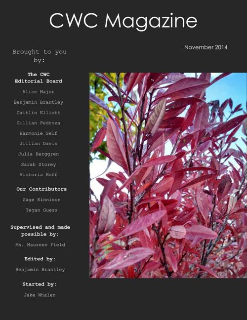 CWC Magazine- November Issue (Pt. 1)