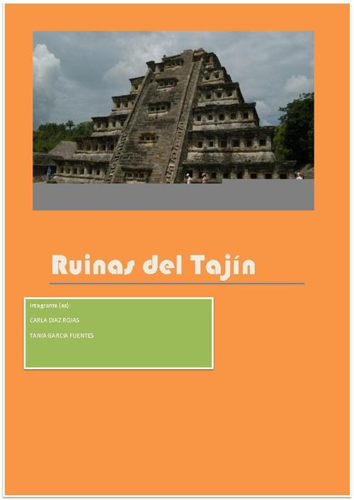 Ruinas Del Tajin