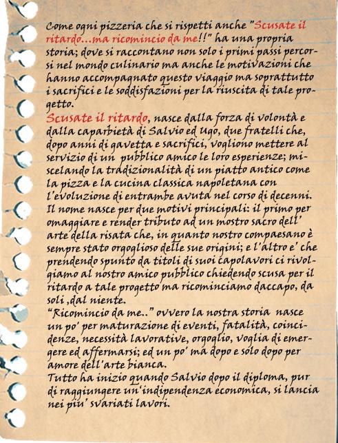 Storia Salvio ed Ugo Esposito