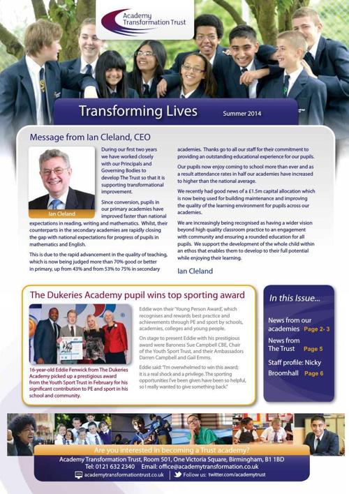 The Trust Newsletter Summer 2014