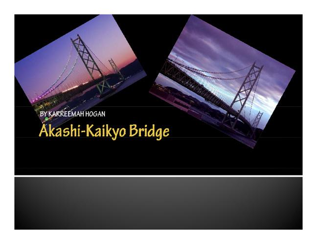 akashi kaikyo bridges