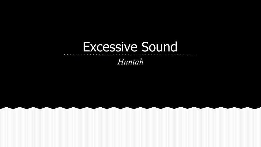 Copy of Excessive sound