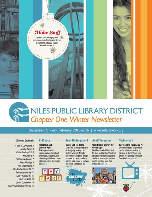 Chapter One Newsletter -  Winter 2015-16