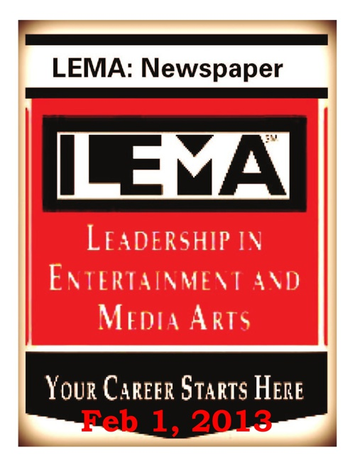 February 1, 2012 Journalism Period 2