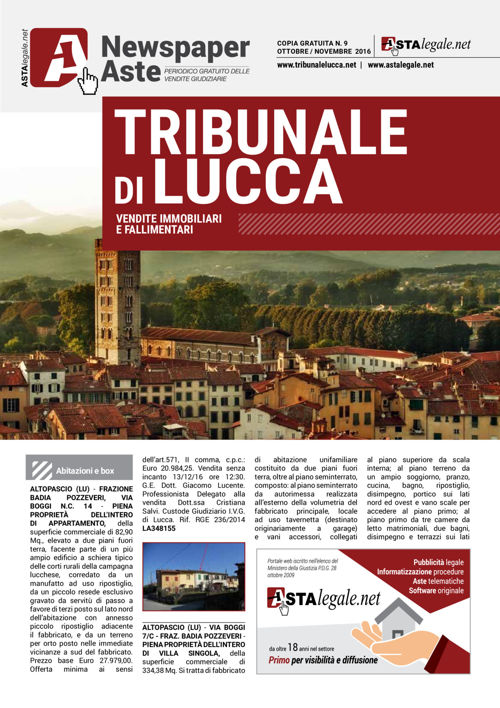 Lucca ottobre novembre 2016