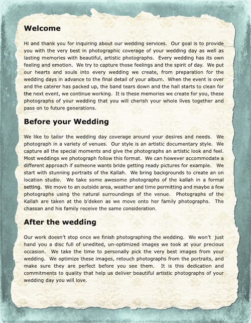 Wedding Investment Guide