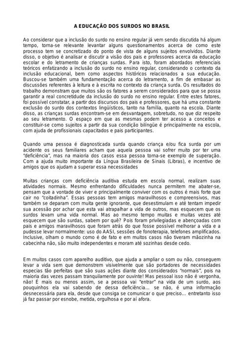 Libras 2014 - Atividade 02-Aula