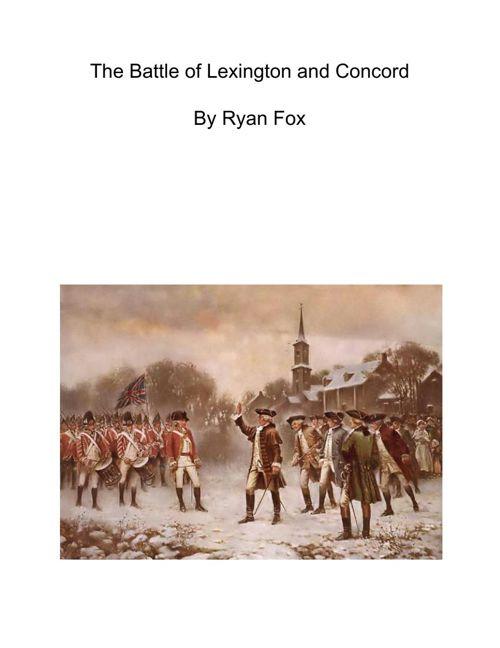 RevolutionaryWarEssay-RyanFox