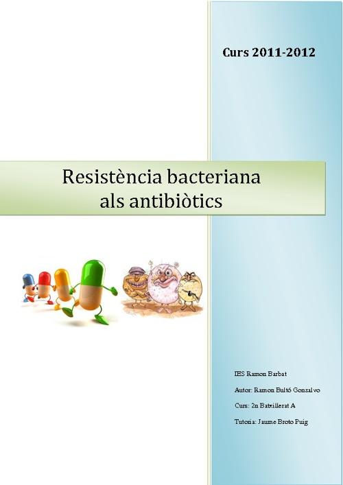 Resistència bacteriana als antibiòtics