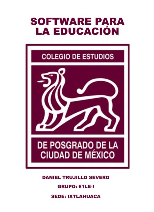 SOFTWARE PARA LA EDUCACIÓN