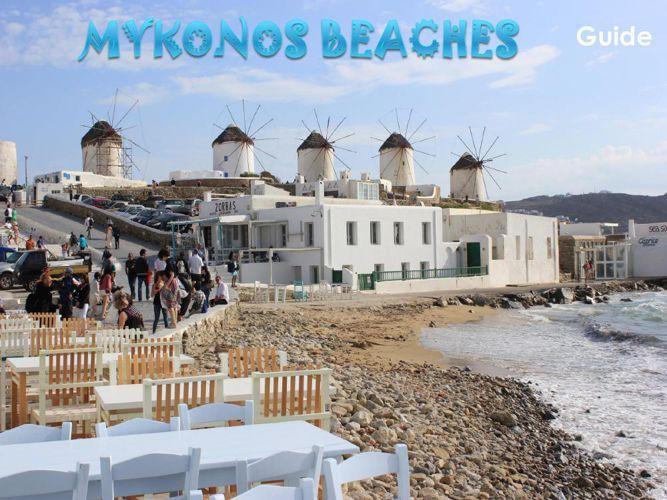 Mykonos beaches 2016