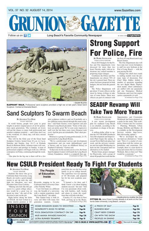 Grunion Gazette | August 14, 2014