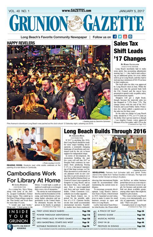 Grunion Gazette     January 5, 2017