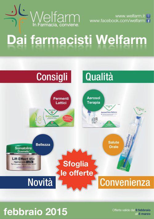 Volantino Offerte Farmacie Welfarm Febbraio 2015