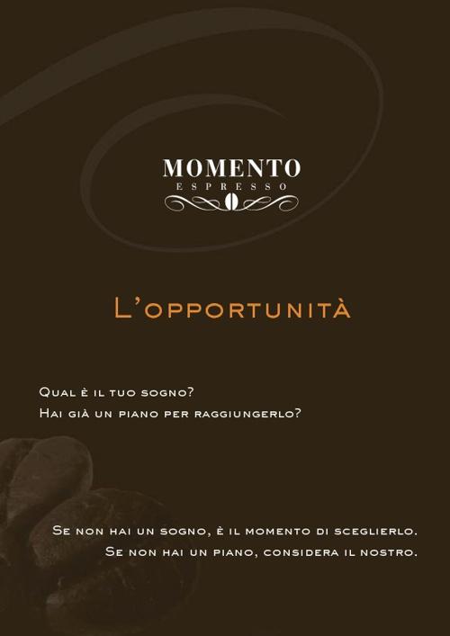 Brochure Consulente Momento Espresso