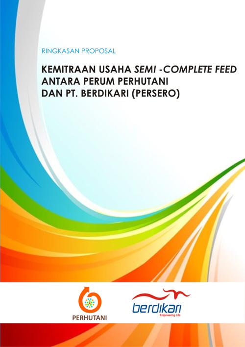 Ringkasan Proposal Kemitraan Usaha Semi-Complete Feed Perum Perh