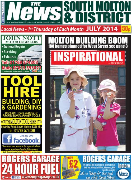 South Molton & District News July 2014
