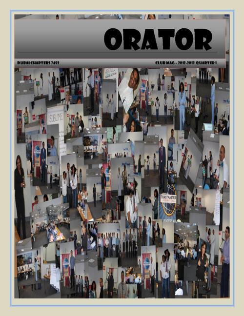 Orator - Quarter 1