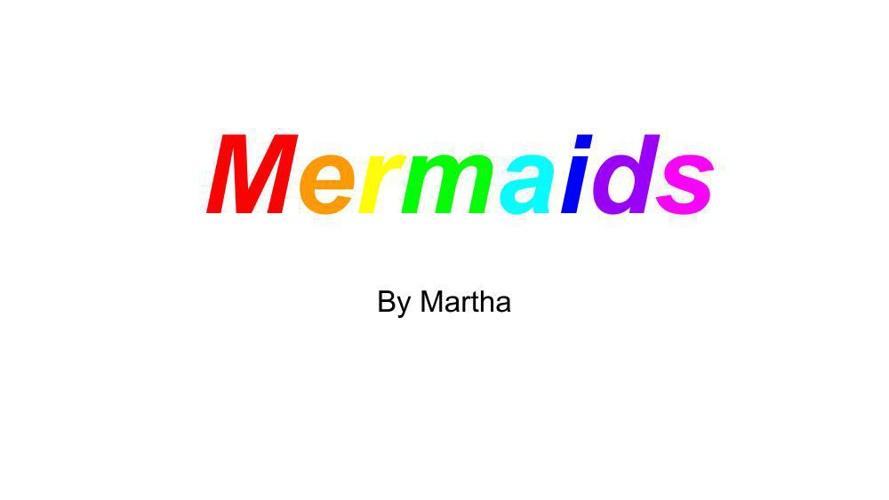 Martha's Informational Writing