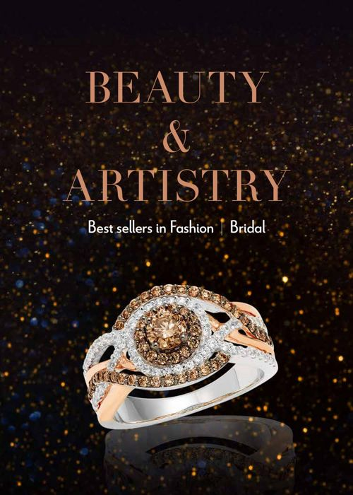 Best-selling bridal & fashion jewelry look book 2017