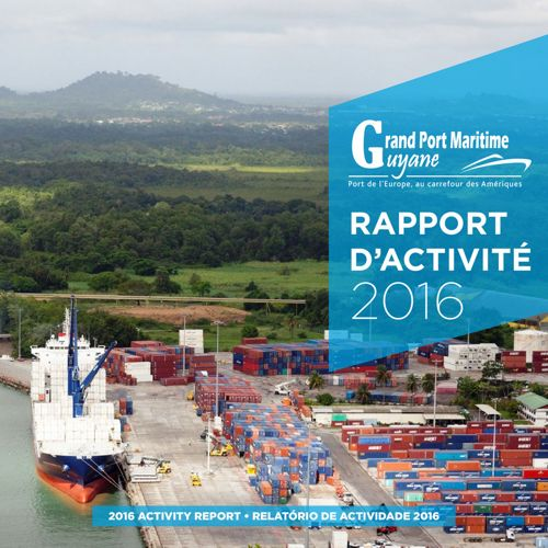 Copy (2) of Rapport d'activité 2015 du Grand Port Maritime de Gu