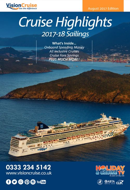 Vision Cruise Brochure Releases