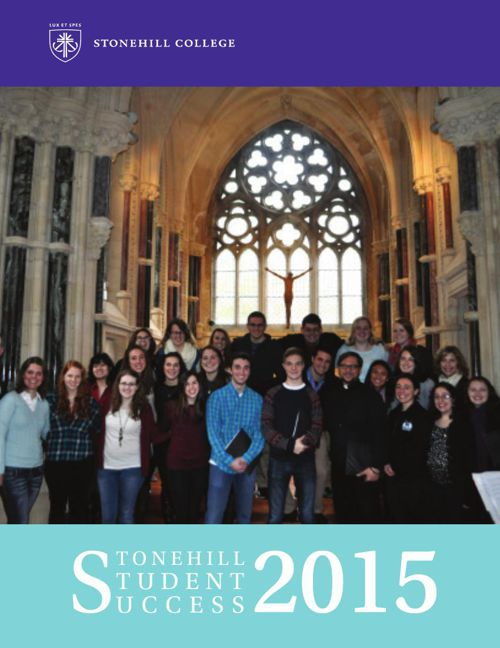 Stonehill Student Success 2015