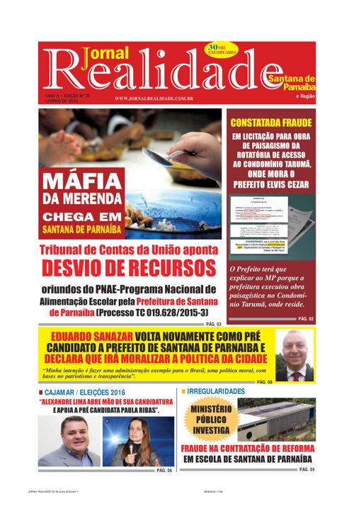 JORNAL REALIDADE 39ª EDIÇÃO