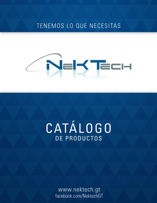 Catálogo de Productos de Nektech