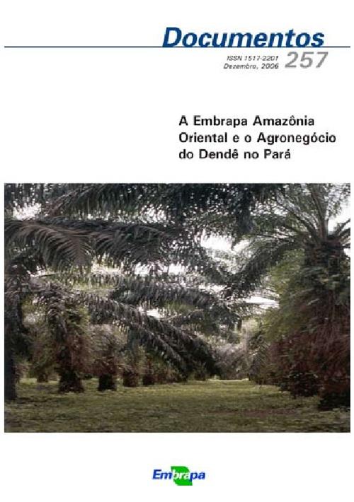 Agronegócio do Dendê no Pará