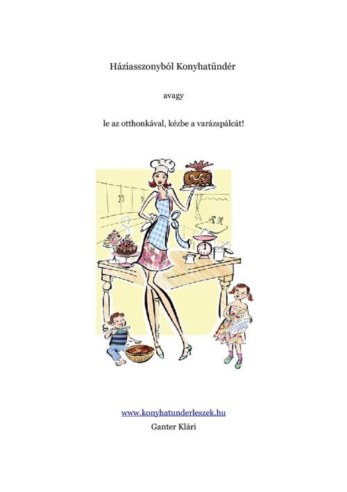 Háziasszonyból konyhatündér
