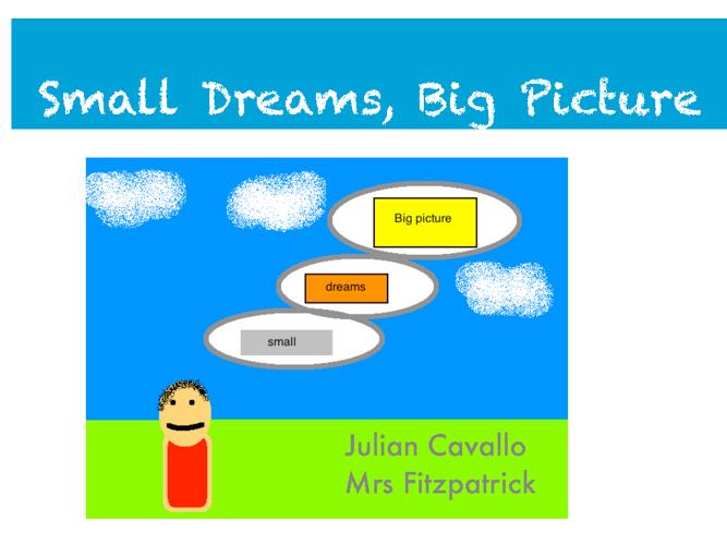 Small Dreams Big Picture