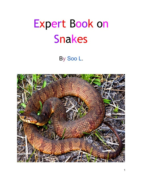 Expert Book on Snakes