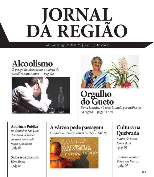 Jornal da Região  l  Edição 2  l  Agosto de 2015