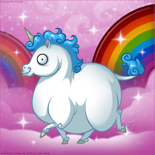 Fat unicorns life cycle.