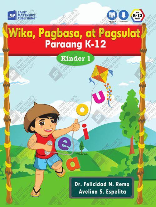 Wika, Pagbasa, at Pagsulat Kinder 1