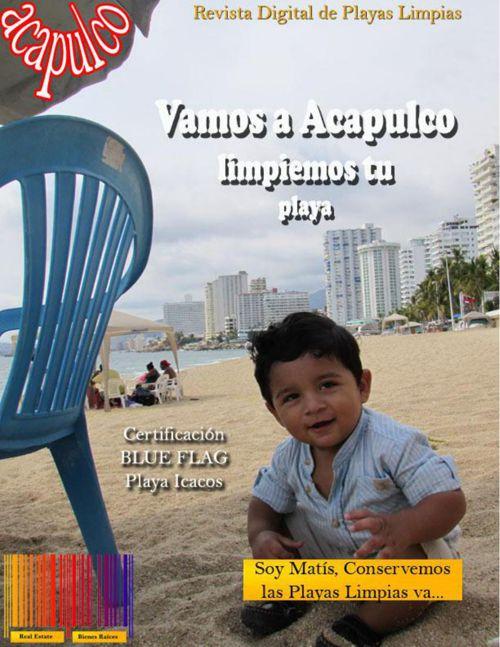 Playas limpias y arenas doradas en Acapulco.