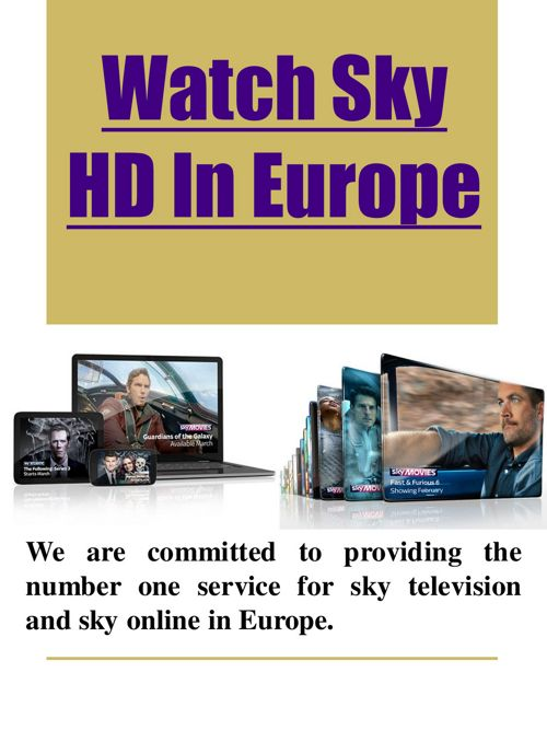 Watch Sky Sports In Europe